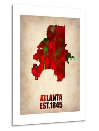 Atlanta Watercolor Map