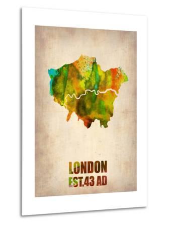 London Watercolor Map 1