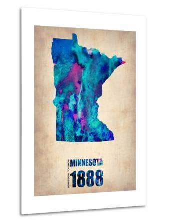 Minnesota Watercolor Map