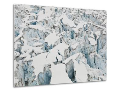 Detail of the Heavily Crevassed Surface of Columbia Glacier, Alaska.