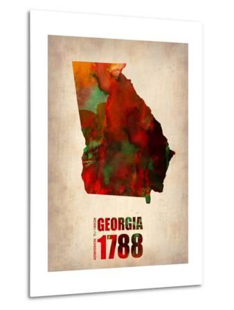 Georgia Watercolor Map