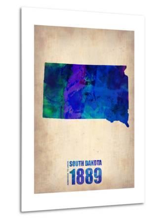 South Dakota Watercolor Map
