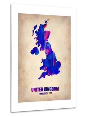 United Kingdom Watercolor Map