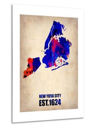 New York City Watercolor Map 1
