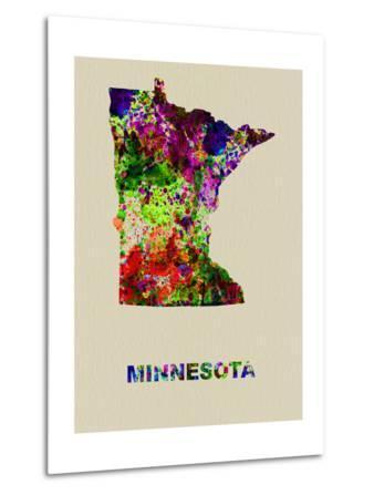 Minnesota Color Splatter Map
