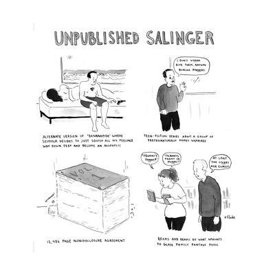 Unpublished Salinger - Cartoon