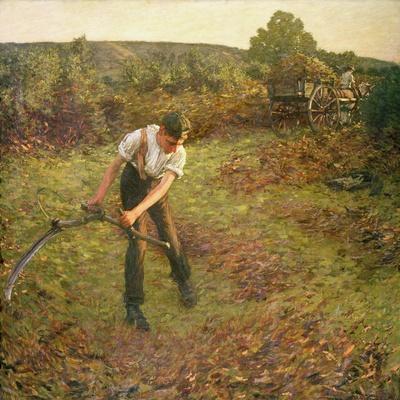 Mowing Bracken, 1903