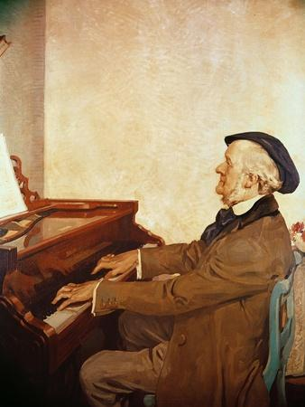 Richard Wagner (1813-83) Composing