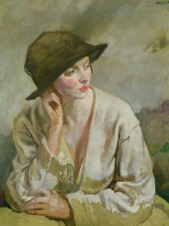 Portrait of Miss Sinclair