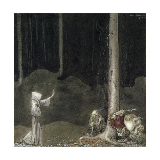 Brother St  Martin and the Three Trolls, 1913