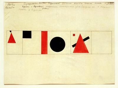 Design for the Speaker's Rostrum, 1919