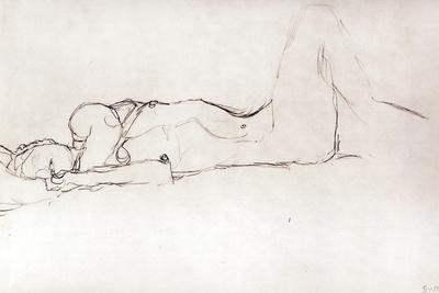 Nude Woman in Bed, c.1914
