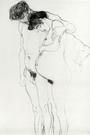 Study for 'Hoffnung I' (Hope I) 1903-04