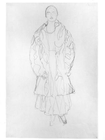 Standing Woman with Coat, 1916