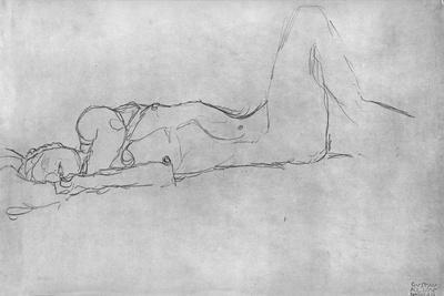 Reclining Female Nude, c.1914