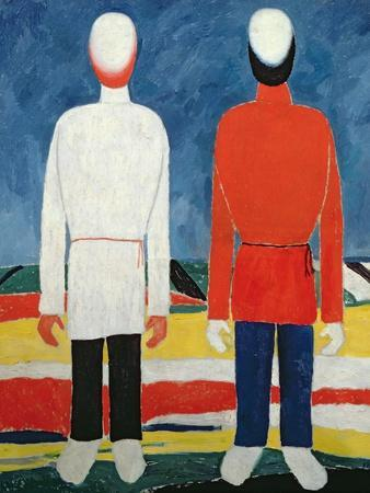 Two Masculine Figures, 1928-32