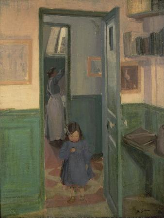 In Sickert's House, 1907