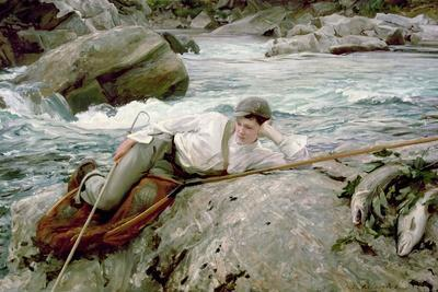 On His Holidays, Norway, 1901