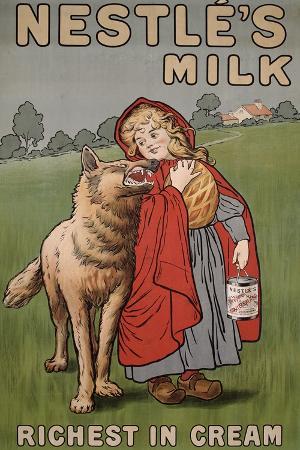Poster Advertising Nestle's Milk, 1900