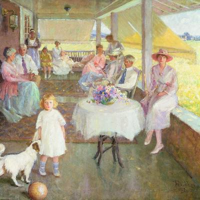 Family Gathering, 1919