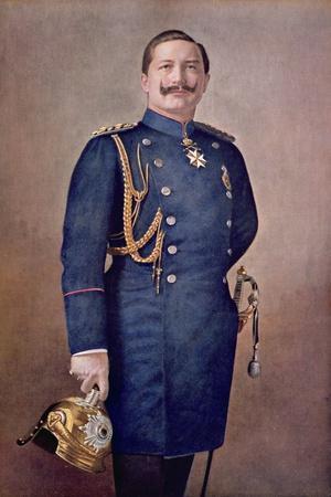 Portrait of Kaiser Wilhelm II (1859-1941) c.1900