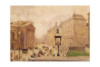 Pall Mall from the National Gallery, with a View of the Royal College of Physicians, 1911
