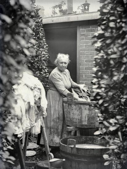 Washerwoman C 1900 05 Photographic Print By French