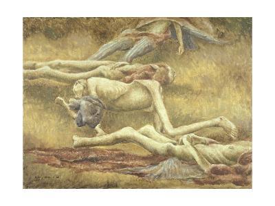 Bodies in a Grave, Belsen, 1946