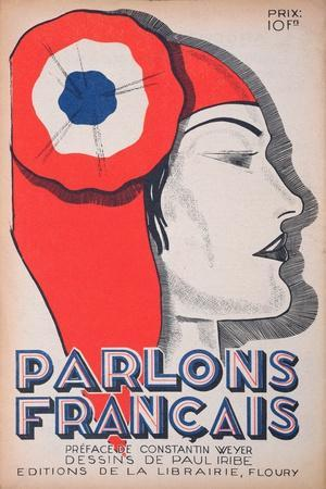 The Witness, Caricature of Marianne, from 'Parlons Francais', 1st July 1934