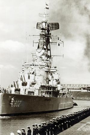 Naval Visit at Emden, Germany