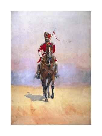 Governor's Bodyguard, Bombay, Musalman Rajput, Illustration for 'Armies of India' by Major G.F.…