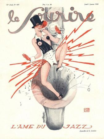 Front Cover of 'Le Sourire', January 1929