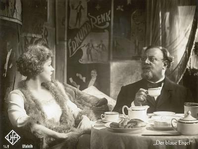 "Still from the Film ""The Blue Angel"" with Marlene Dietrich and Emil Jannings, 1930"