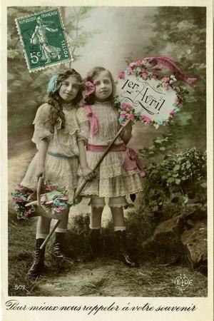 Greetings, April Fool's Day, 1906