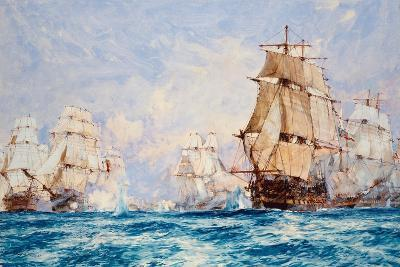 The Blockade of Toulon, the Action Off Bandol in 1810, 1918