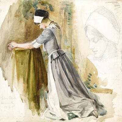 Woman at Prayer, c.1917