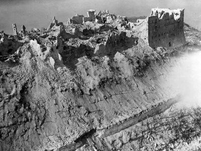 Scene from the Battle of Monte Cassino, 1944