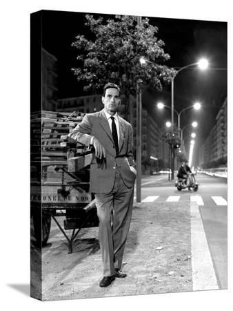 Pier Paolo Pasolini in Rome, July 1960