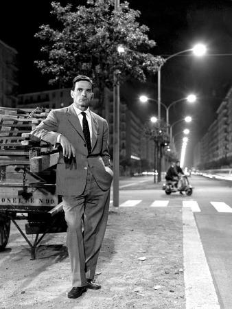 Pier Paolo Pasolini in Rome, July 1960