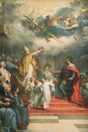 The Coronation of Charlemagne
