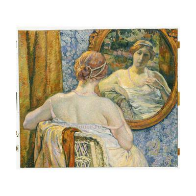 Woman in a Mirror, 1907