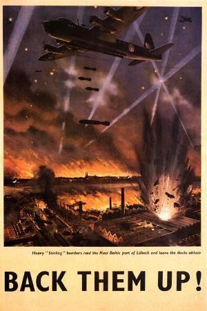 'Back Them Up' Poster, c.1942