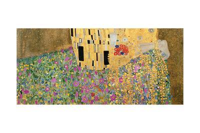 The Kiss, 1907-08 (Detail)