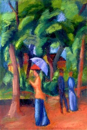 Walking in the Park, 1914