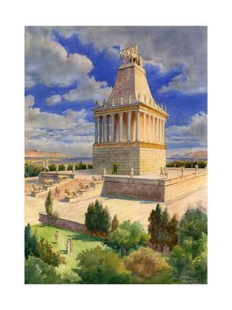 The Mausoleum at Halicarnassus