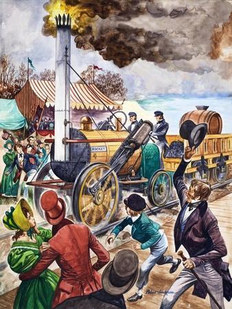 George Stephenson and the Rocket