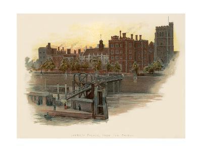Lambeth Palace, from the Bridge