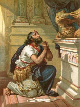 King Hezekiah Spreads His Case before the Lord