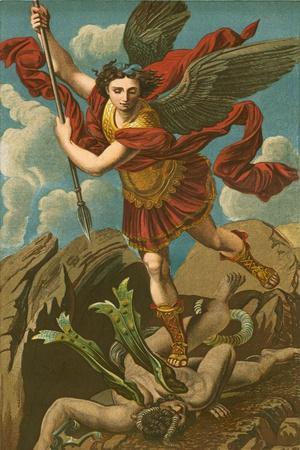 St Michael Vanquishing Satan