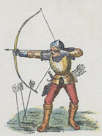 Foot Archer with Long Bow